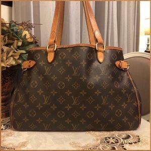 Authentic Louis Vuitton Batignolles Horizontal